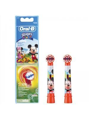 Braun Oral B Stages Power Микки Маус насадки для электрической зубной щётки