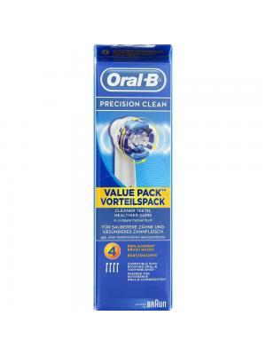 Braun Oral-B Precision Clean сменные насадки для электрической зубной щётки 4 шт