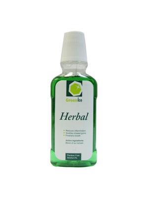 GreenIce Herbal натуральный ополаскиватель полости рта с экстрактами трав 300мл
