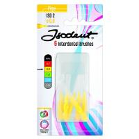 Isodent Interdental Brushes 0.9мм набор межзубных ёршиков жёлтые