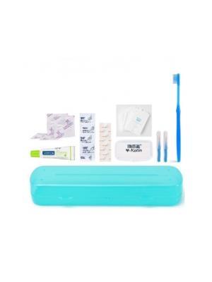 Y-Kelin Ortodontic Kit  набор дорожный для брекет-систем синий