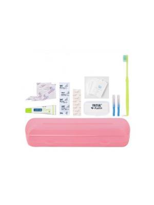 Y-Kelin Ortodontic Kit набор ортодонтический дорожный для брекет-систем розовый