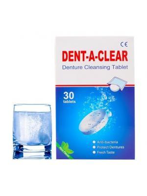 Y-Kelin таблетки для очищения съемных зубных протезов (30 шт)