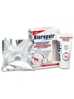Восстанавливающий  гель для гиперчувствительных зубов с капой Biorepair Desensitizing Enamel Repairer Treatment  50 мл