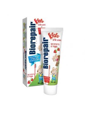 Детская зубная паста без фтора для детей от 0 до 6 лет Biorepair Kids