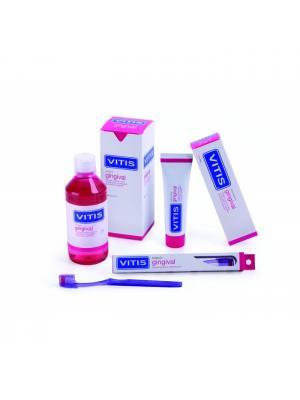 Dentaid Gingival набор гигиенический в косметичке - ополаскиватель 500мл, зубная паста, зубная щётка