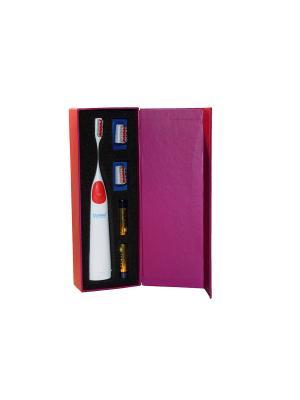 Donfeel HSD-005 красная ультразвуковая звуковая электрическая зубная щетка
