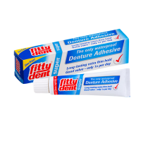 Средства для съёмных зубных протезов