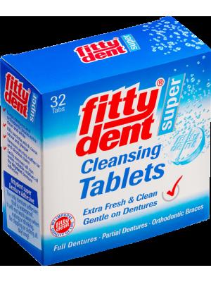 Таблетки для очистки съемных зубных протезов 32 шт