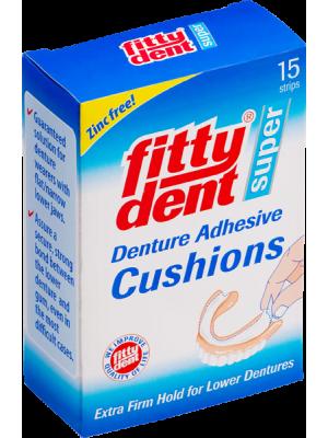 Fittydent super фиксирующие вкладыши для нижних съемных зубных протезов 15 шт