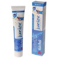 Fuchs Junior детская зубная паста с 2-х лет с флюоридом  (75 мл)