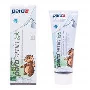 Paro amin kids детская зубная паста на основе аминфлюорида 0+ (75 мл)