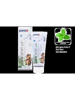 Paro 0-10 Зубная паста на основе аминфлюорида от 0 до 10 лет, 75 мл