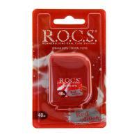 ROCS Red Edition зубная нить 40м кручёная