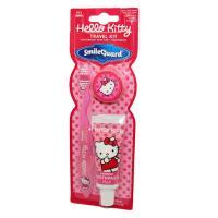 SmileGuard Hello Kitty Travel Kit детская зубная щётка + зубная паста дорожный набор.