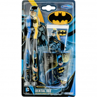 SmileGuard Batman Dental kit Набор дентальный: 2 мягкие зубные щетки, зубная паста 75 мл, стакан от 3 лет