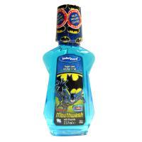 SmileGuard Batman Mouthwash Ополаскиватель полости рта с флюоридом (0,05%), со вкусом Bubble Gum, с 6-ти лет