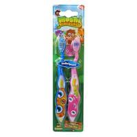 SmileGuard MoshiMonstersToothbrushes 2 Набор дет. зуб. щеток с мягкой щетиной (2шт.) От 3-х лет.