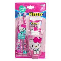 SmileGuard Hello Kitty Dental kit дентальный набор: 2 зубные щетки, стаканчик, зубная паста 75 мл с 3 лет