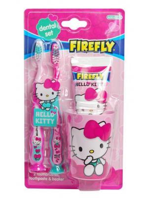 Гигиенический набор SmileGuard Hello Kitty Dental kit: 2 зубные щетки, зубная паста 75 мл, стакан от 3 лет