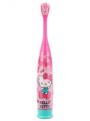 SmileGuard Hello Kitty TURBO Power Max детская электрическая зубная щетка на батарейке с 6 лет
