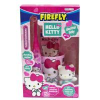SmileGuard Hello Kitty Dental Set Набор дентальный с 6 лет: зубная паста и щетка на батарейке, подставка с игрушкой, стакан