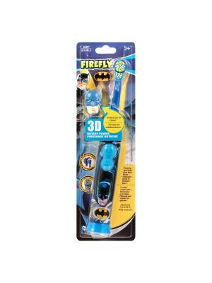 SmileGuard Batman Firefly зубная щетка для детей на батарейке c 3D колпачком 3+