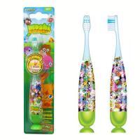 SmileGuard Moshi Monsters FIREFLY детская зубная щётка с таймером-подсветкой на присоске.