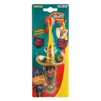SmileGuard MIKE the Knight Junior toothbrush детская зубная щётка с прорезиненной ручкой